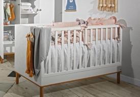 Łóżeczko dziecięce z funkcją sofy Toteme 70x140