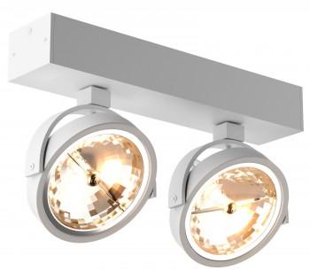 Metalowy reflektorek sufitowy GO SL podwójny