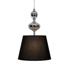 Nowoczesna lampa wisząca z materiałowym abażurem Megan
