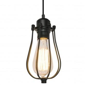 Metalowa lampa wisząca w stylu industrialnym Horta 1