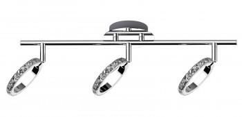 Designerski plafon sufitowy z kryształkami Toledo 3