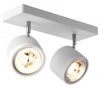 Podwójny reflektorek sufitowy z metalu Lomo SL 2