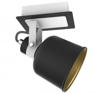 Metalowy reflektorek sufitowy z regulacją Redon 1