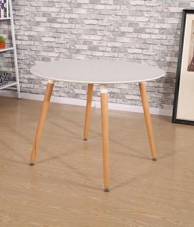 Skandynawski stół na bukowych nogach Living 100