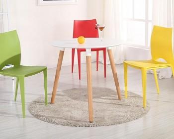 Skandynawski stół na trzech nogach Nolan 80