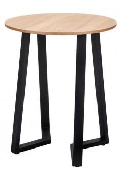 Stół z okrągłym blatem w stylu industrialnym Tavolo 60