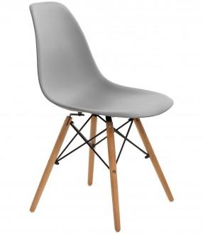 Skandynawskie krzesło na bukowych nogach P016W basic