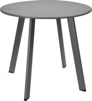 Okrągły stolik pomocniczy z metalu Pini