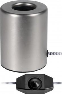 Okrągła lampka stołowa ze ściemniaczem Bulb