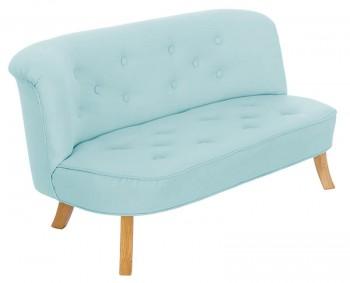 Nierozkładana sofa dziecięca Somebunny len