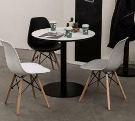 Okrągły stół kawiarniany na jednej nodze Anken 60