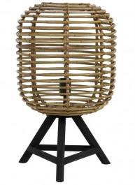 Rattanowa lampa stołowa Tabana