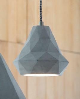 Nowoczesna lampa cementowa Devany