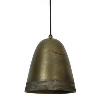 Lampa sufitowa z postarzanego metalu Sumeri antyczny brąz