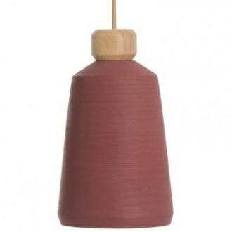 Lampa sufitowa z betonowym kloszem Conic Pink