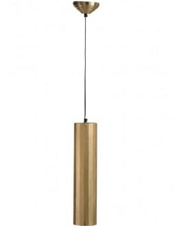 Lampa wisząca z podłużnym kloszem metalowym Cylinder