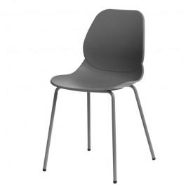 Nowoczesne krzesło kawiarniane na metalowych nogach Layer 4