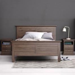 Łóżko Paris 140x200 orzech