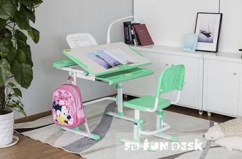 Regulowane krzesło i biurko dla dziecka Disa