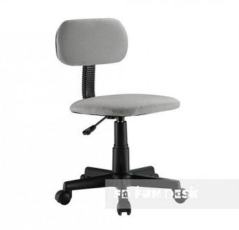 Obrotowe krzesło dziecięce na kółkach SST7 Grey