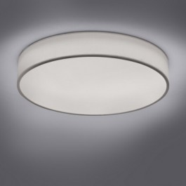 Okrągła lampa sufitowa w kolorze białym Diamo 60
