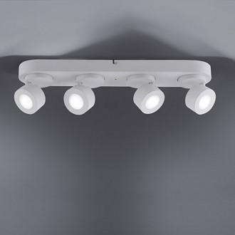 Lampa sufitowa z czterema reflektorami Sancho