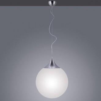 Wisząca lampa dekoracyjna z kulistym kloszem Damian