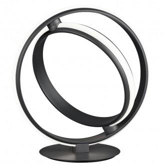 Stojąca lampka dekoracyjna ring Compton antracyt
