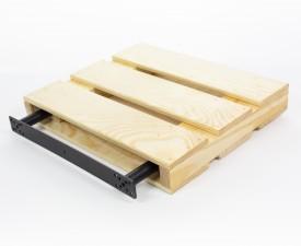 Drewniana półka ścienna 30 Palette