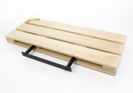 Drewniana półka ścienna 60 Palette