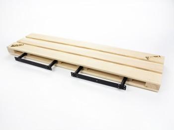 Drewniana półka ścienna 90 Palette