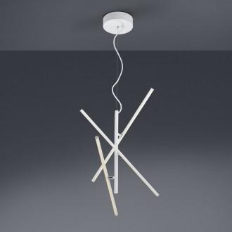 Dekoracyjna lampa wisząca Tiriac biały