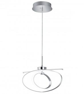 Designerska lampa ledowa do salonu Coronado