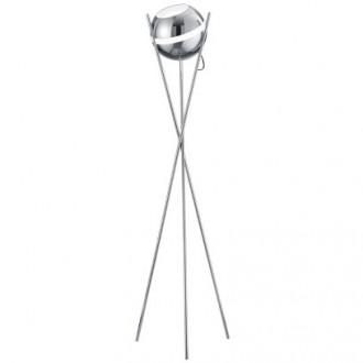 Dekoracyjna lampa stojąca z kloszem w kształcie kuli Balloon