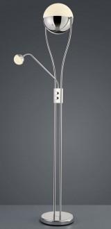 Dwuczęściowa lampa stojąca z kulistymi kloszami Chris