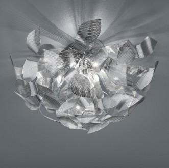 Designerski plafon dekoracyjny z chromowanego metalu Douglas