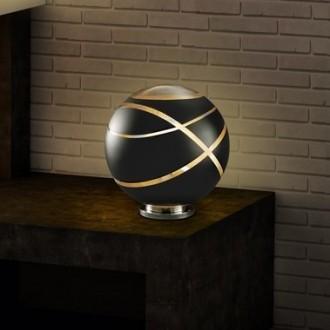 Kulista lampa stołowa z nowoczesnym dekorem Faro 30