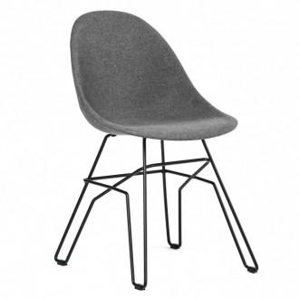 Krzesło z tapicerowanym siedziskiem Verona