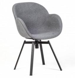 Obrotowe krzesło z tkaniny Malmo