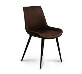 Krzesło tapicerowane ekoskórą Palermo