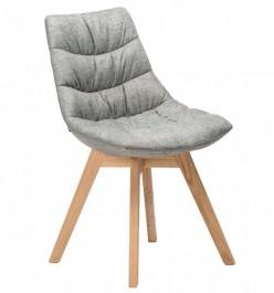 Tapicerowane krzesło z miękkim siedziskiem Marbella