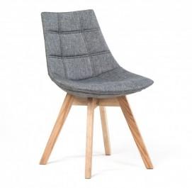 Pikowane krzesło w stylu skandynawskim Valenzia
