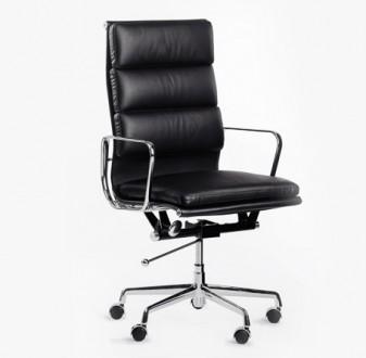 Skórzane krzesło obrotowe do gabinetu Madera