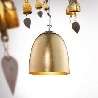 Wisząca lampa salonowa z kloszem w kształcie kubka Ontairo 33