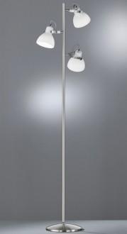 Wysoka lampa stojąca z trzema reflektorami Ginelli