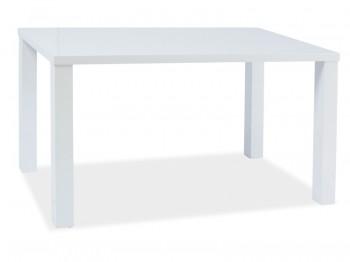 Biały stół lakierowany Montego 120/80