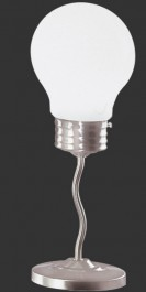 Designerska lampa stołowa w kształcie żarówki Edison II