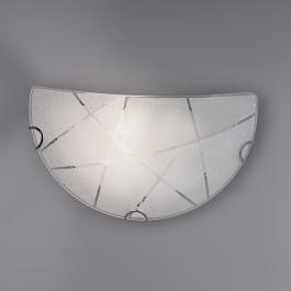 Dekoracyjny kinkiet ścienny w kształcie misy Sandrina