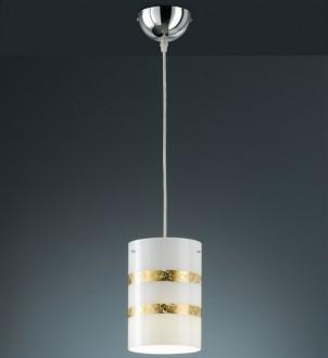 Prosta lampa wisząca z kloszem w kształcie walca Nikosia