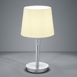 Elegancka lampa stołowa z regulacją wysokości Lyon nikiel